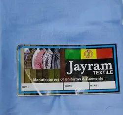 School Uniform fabric 67 Polyester 33 Cotton