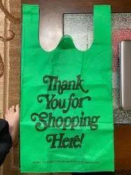 Grocery bag w-cut
