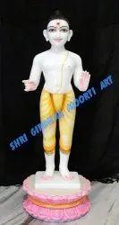 Marble Swaminarayan  Marble Statue