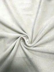 Cream Plain Velvet Sofa Fabrics, 260
