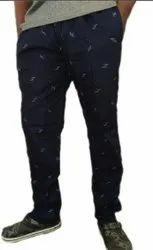 Cotton/Linen Flat Trousers Casual Trouser For Men