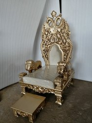 For Home Gold Lion Chair