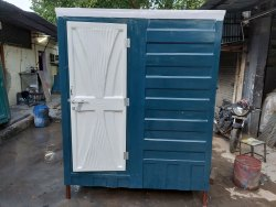 FRP PORTABLE BATHROOM WITH TOILET