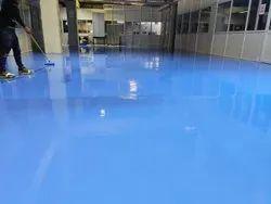 Epoxy coating for werehouse