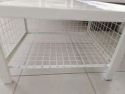 Single Cot Bed With Mesh Locker