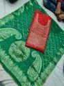 Chanderi Hand Gota Patti Kurta