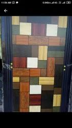 Slide & Fold Polished Greenply Pvc Door, For Bathroom, Interior