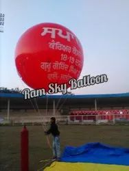 Red Advertising Sky Balloons