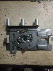 disha heavy almirah lock silver