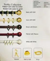 Plastic Curtain Rod