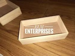 ELM Wooden Serving Trays, Shape: Rectangle, Size: Customizable