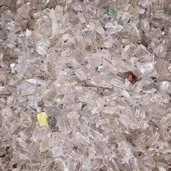 White Pet Bottel Scrap Material, For Plastic Industry, Size: 40kg