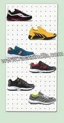 Pegboard For Footwear