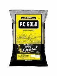 Golden 30 kg and 50 kg Fresh Sortex Wheat Sharbati