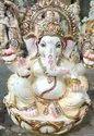 Marble Ganpati Statue
