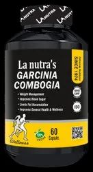 LA Nutra's Garcinia Combogia Extract Capsules For Weight Loss