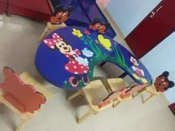 6 Seater Play School Furniture