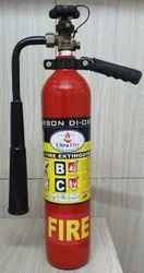 A Class Co2 Fire Extinguisher, Capacity: 4 Kg