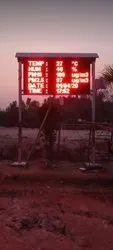CPCB parameters display board