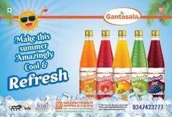 Bottles Summer Cool Drink