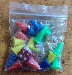 Plastic Ludo Pawns