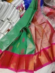 Kuppadam Tissue Kanchi Border