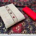 Ligalz presents khadi cotton with work dress