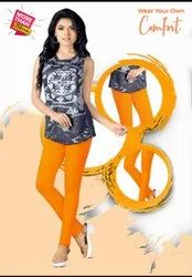 Cotton Solid Comfort Lady Straight Pant