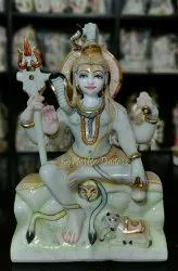 Handcrafted Marble God Idol