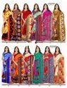 Printed Heavy Lace Border Saree
