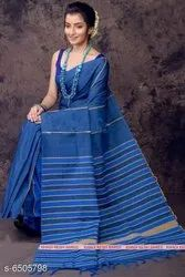 6.3 m (with blouse piece) Casual Khesh Soft Cotton Sarees