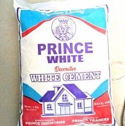 PRINCE White Cement, 1KG 5KG 25KG 50KG