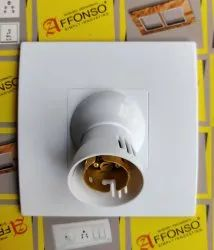 AFFONSO Plastic Eco 5x5 Modular Holder, For Electrical Fitting, Base Type: B22