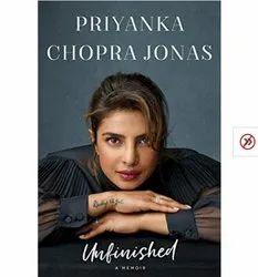 Self Help English Unfinished Book, Jonas Priyanka Chopra