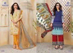 44-45 Deeptex Cotton Dress Material