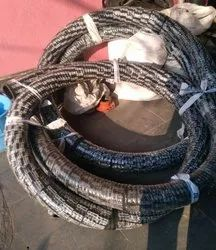 Rubber Fly Ash Hose Id 4 Inchesx7.5 Meters Long, For Cement Feeding