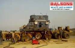 Heavy Machinery Loading Unloading Services