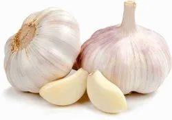Pulling garlic