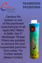 Water Filter Candle, 5 Micron, Model Name/Number: Candour 9