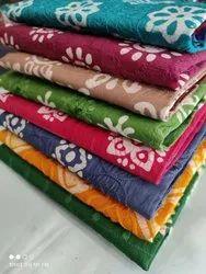 Cotton Unstitch Lehria Wax Batik Suits