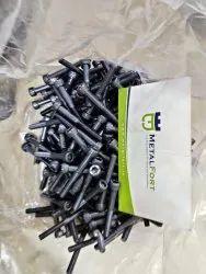 Bolt High Tensile Steel Unbrako Socket Head Cap Screws, Grade: 12.9, Size: M2 - M48