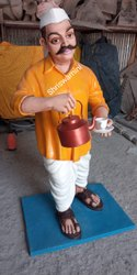 Tea Shop Statue