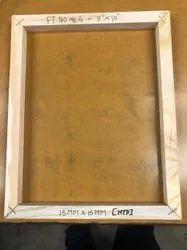 White Plain KD Pinewood Frame, Size: 10*8