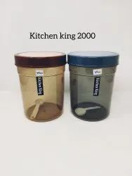 Kitchen King 2000 Plastic Container