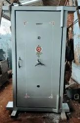 Strong Room Door With Grill Safe