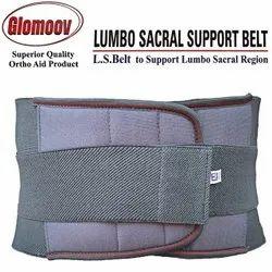 Glomoov Cotton Brown Back Support Belt, Size: S-xl, for  back pain