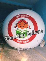 Advertisement Sky Balloon For Slogan Beti Bachao