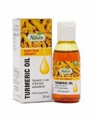 Turmeric oil drops