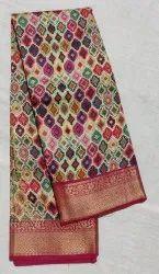 Moonga Pure Silk Saree