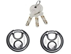 Godrej Disc Lock Main Door Dura Lock, Silver